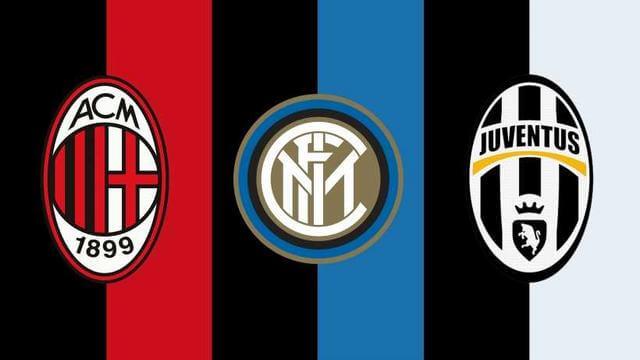 Soi kèo Serie A cần phải nhớ 3 đại gia nước Ý: AC Milan - Inter Milan - Juventus