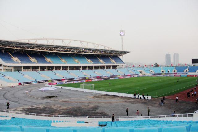 Đây là sân vận động lớn thứ 2 tại Việt Nam