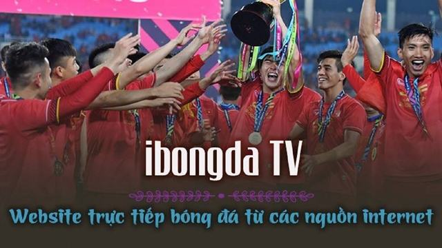iBongDa TV - xem bóng đá trực tuyến full HD không lag