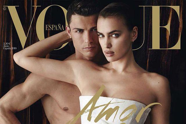 Siêu mẫu Irina Shayk và Ronaldo