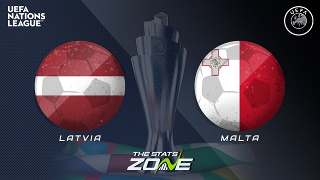 Latvia vs Malta, 23h00 - 13/10/2020 - UEFA Nations League