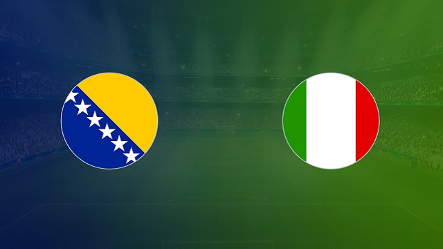 Bosna & Hercegovina vs Italia, 02h45 - 19/11/2020 - UEFA Nations League