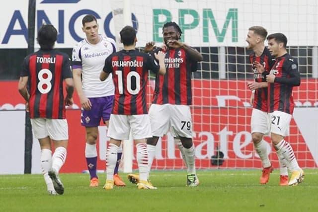 Kessie ghi 1 bàn và kiến tạo bàn mở tỷ số cho Milan