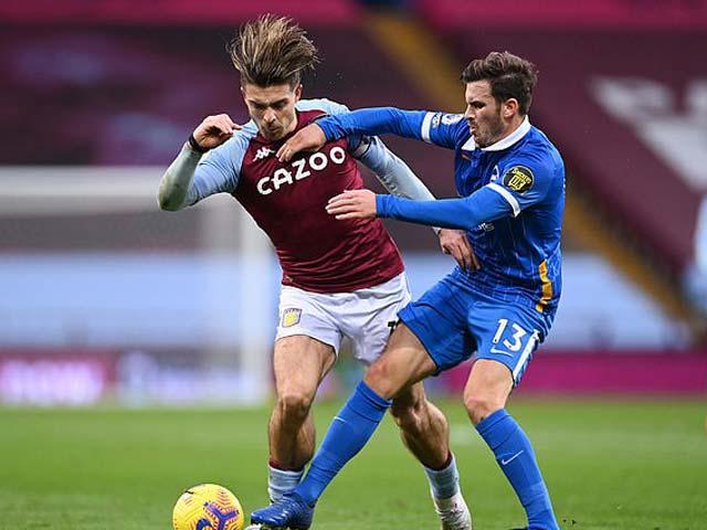 Lối chơi khó chịu của Brighton gây ra nhiều khó khăn cho Aston Villa