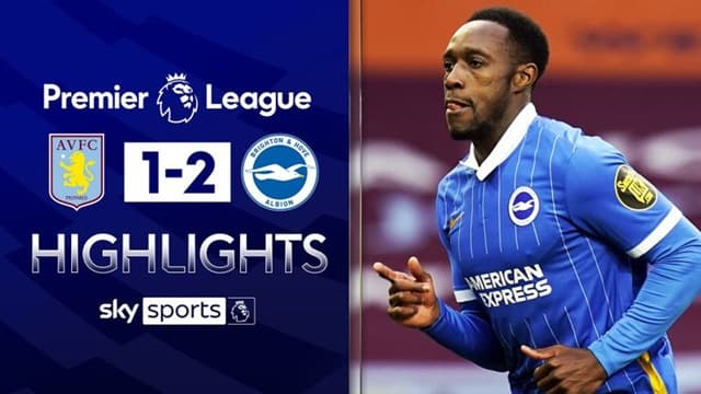 Video Highlight Aston Villa - Brighton