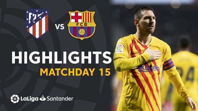 Video Highlight Atletico Madrid - Barcelona