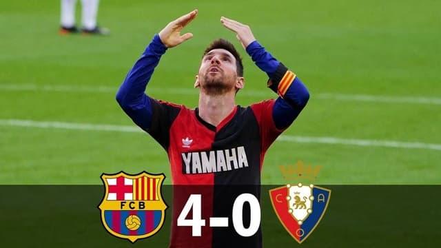 Video Highlight Barcelona - Osasuna