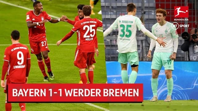 Video Highlight Bayern Munich - Werder Bremen