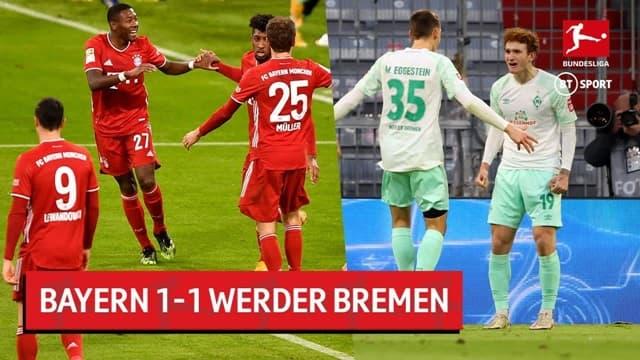 Video Highlight Bayern Munich - Werder Bremen
