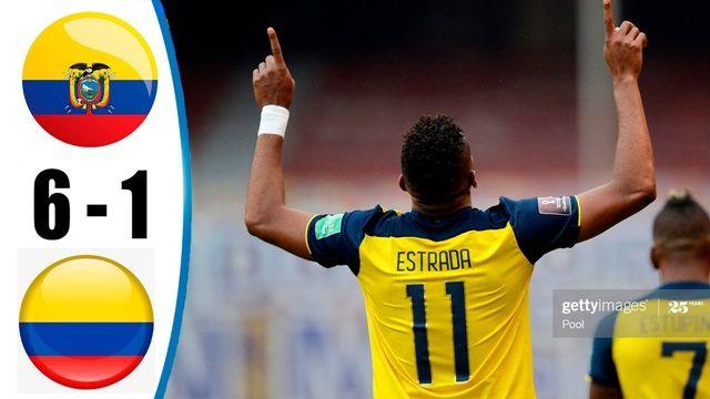 Video Highlight Ecuador - Colombia