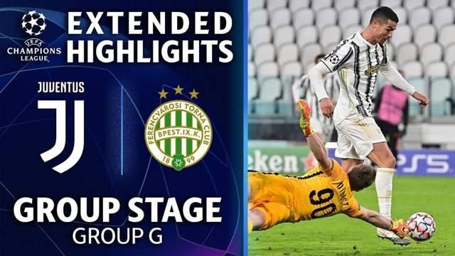 Video Highlight Juventus - Ferencvaros