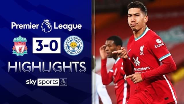 Video Highlight Liverpool - Leicester City