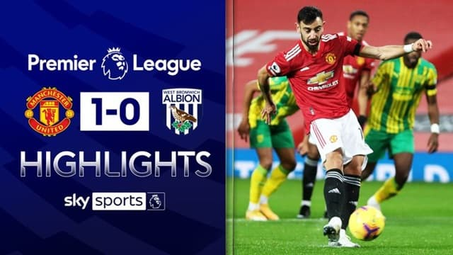 Video Highlight MU - West Brom