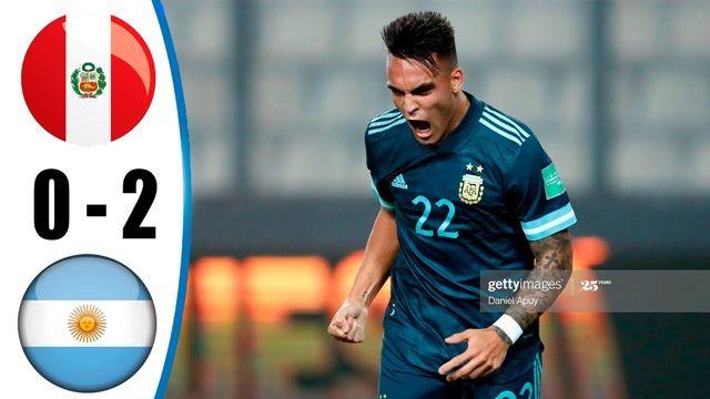 Video Highlight Peru - Argentina