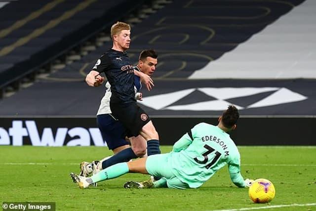 Pha dứt điểm ấn định tỉ số trận đấu của Lo Celso