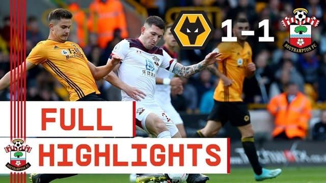 Video Highlight Wolves - Southampton