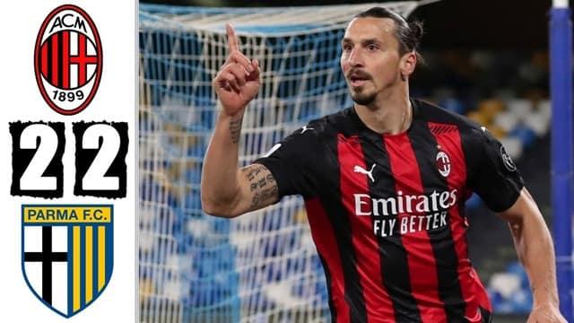 Video Highlight AC Milan - Parma