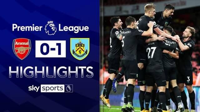 Video Highlight Arsenal - Burnley