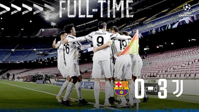 Video Highlight Barcelona - Juventus