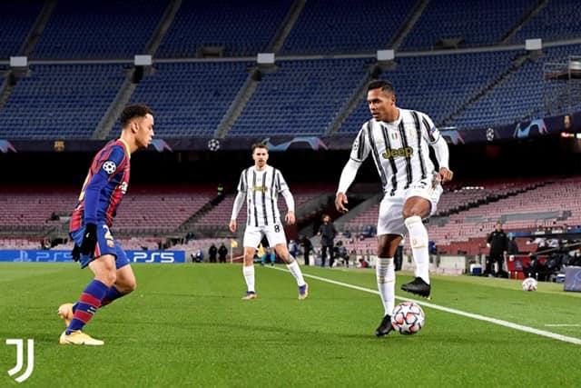 Juventus giành lại thế trận sau những phút đầu bị dồn ép