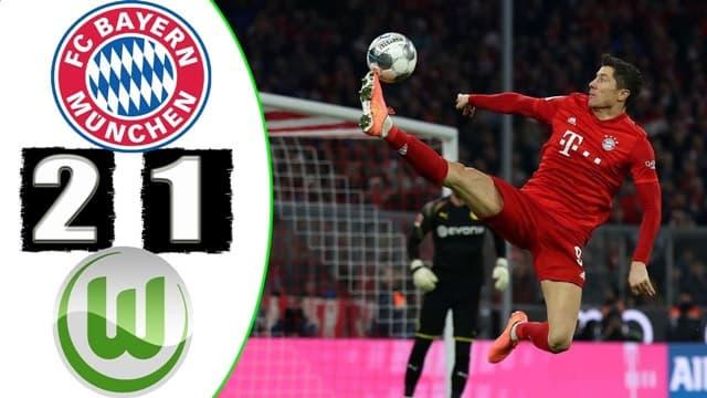Video Highlight Bayern Munich - Wolfsburg
