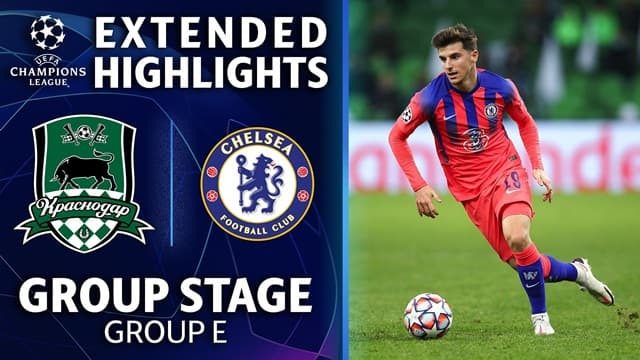 Video Highlight Chelsea - Krasnodar