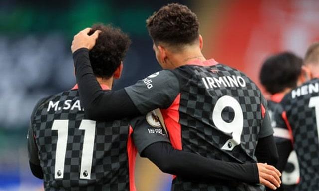 Firmino và Salah mỗi người lập một cú đúp để Liverpool thắng tưng bừng 7-0