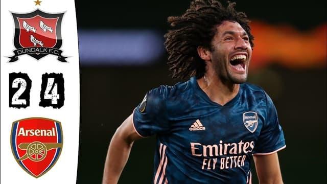 Video Highlight Dundalk - Arsenal