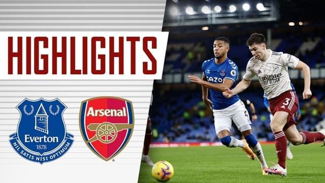 Video Highlight Everton - Arsenal