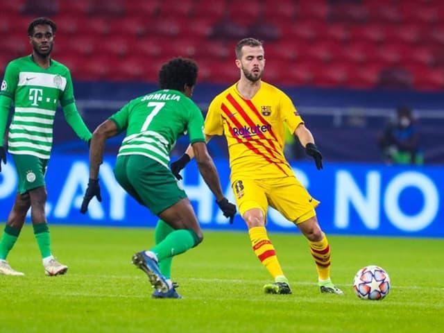 Barcelona sớm triển khai thế trận trước Ferencvaros