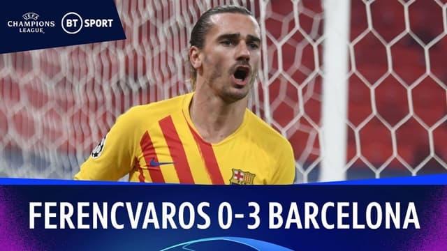 Video Highlight Ferencvaros - Barcelona