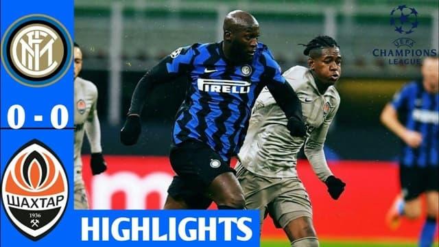 Video Highlight Inter Milan - Shakhtar Donetsk