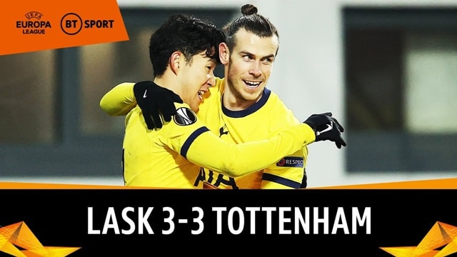 Video Highlight LASK - Tottenham