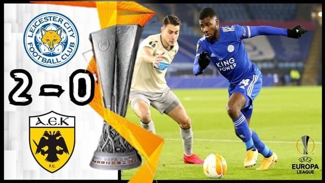 Video Highlight Leicester - AEK Athens