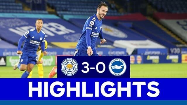 Video Highlight Leicester - Brighton