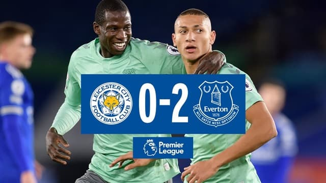 Video Highlight Leicester - Everton