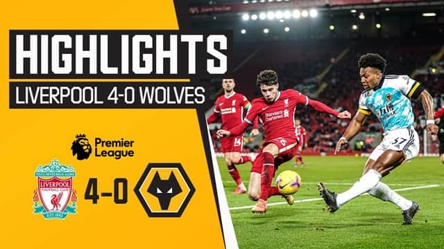 Video Highlight Liverpool - Wolves