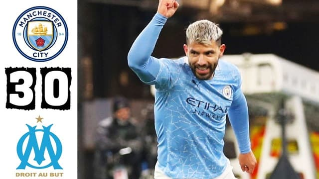 Video Highlight Man City - Marseille