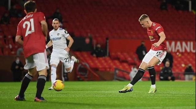 McTominay có liền 2 bàn thắng cho MU chỉ sau 3 phút đầu tiên