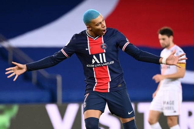 Mbappe ghi bàn mở tỷ số cho PSG