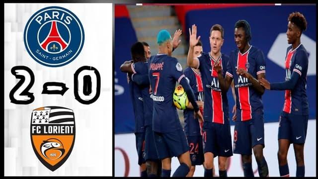 Video Higlight PSG - Lorient