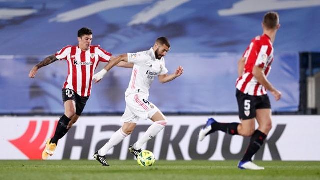 Chơi hơn người từ phút 13, Real nhẹ nhàng đánh bại Bilbao