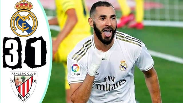 Video Highlight Real Madrid - Athletic Bilbao
