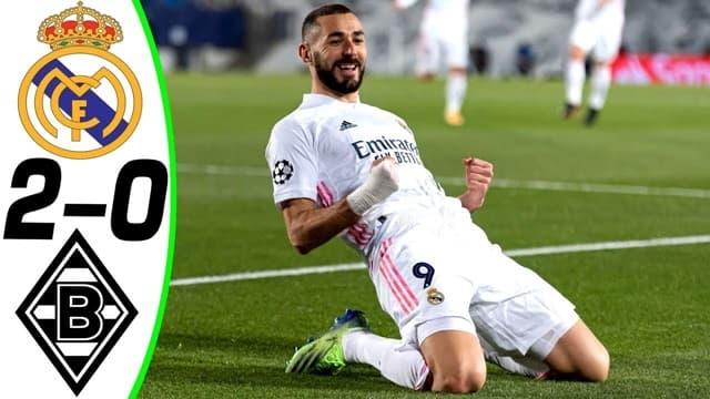 Video Highlight Real Madrid - Monchengladbach