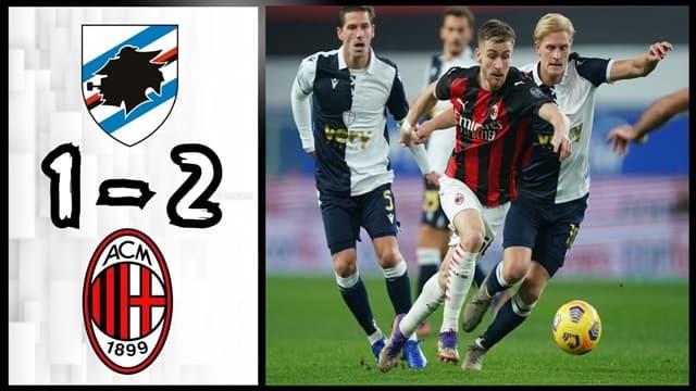 Video Highlight Sampdoria - AC Milan