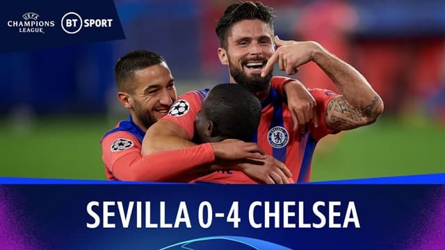 Video Highlight Sevilla - Chelsea
