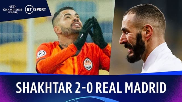 Video Highlight Shakhtar Donetsk - Real Madrid