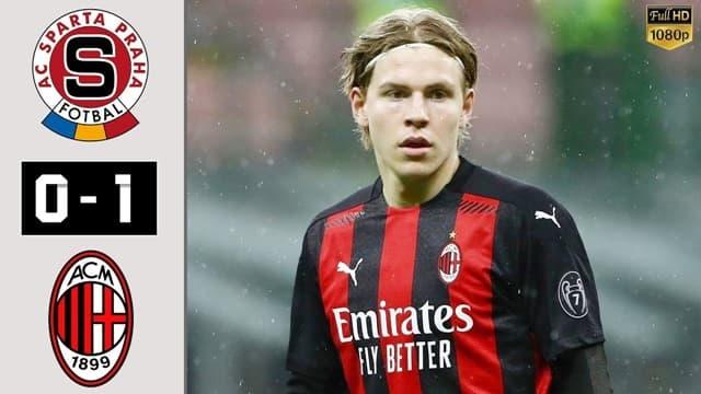 Video Highlight Sparta Praha - AC Milan