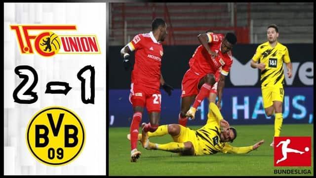 Kết quả bóng đá Union Berlin - Dortmund