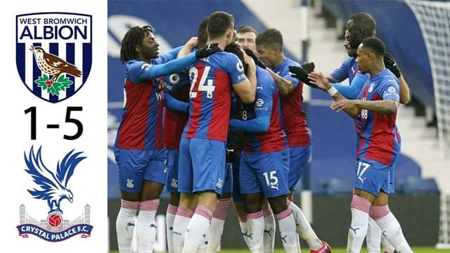 Video Highlight West Brom - Crystal Palace